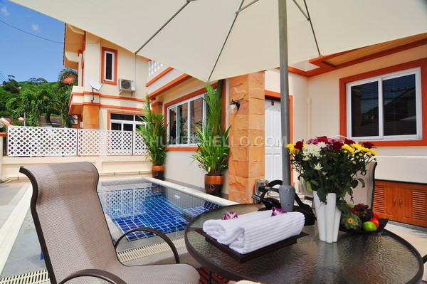 Hill Apartments in Patong 1 bedroom