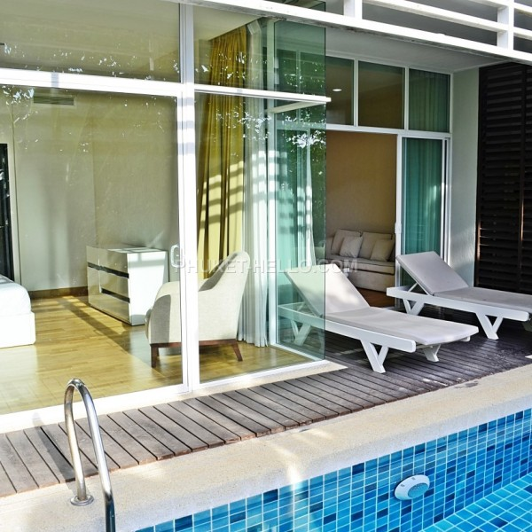Pine Flat with private pool 2 bedrooms