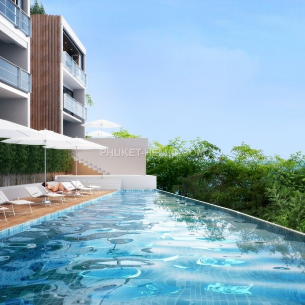 Luxury Seaview Condos 2-3 bedrooms in Patong