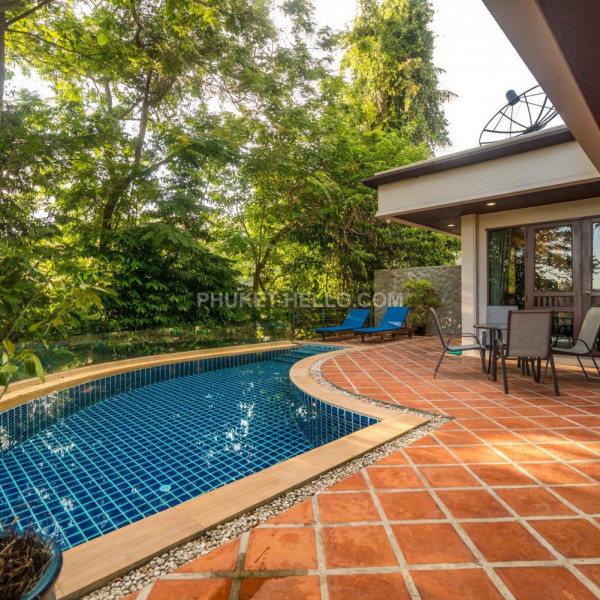 Nakatani Villa with private pool in Kamala 2 bedrooms