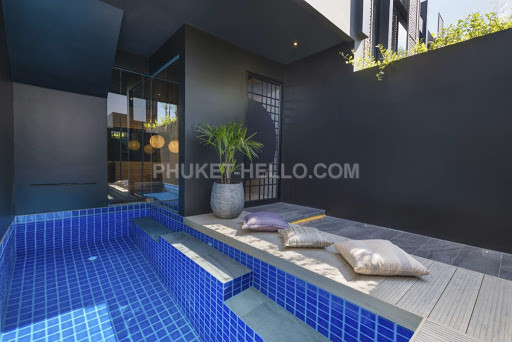 Zen Loft with private pool at Layan Beach